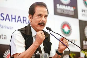 After spending two years in jail, Sahara Group chief Subrata Roy is currently out on parole. Photo: Reuters