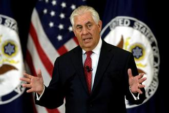 US Secretary of State Rex Tillerson will travel to Kuwait on 10 July to discuss efforts to resolve the dispute, the state department said in a statement. Photo : Reuters