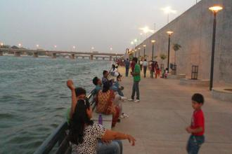 The Sabarmati Riverfront in Ahmedabad. Ahmedabad's journey towards attaining a the world heritage tag city began in 1984. Photo: Manjil Purohit/Wikimedia Commons