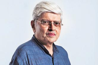 Gopalkrishna Gandhi, 71, who started his career as a civil servant with the Indian Administrative Service (IAS) in 1968, has been named as the opposition's vice-presidential candidate. Photo: HT