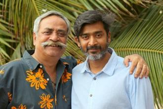 Piyush Pandey (left), executive chairman and creative director, Ogilvy South Asia, with Rajiv Rao, who recently left advertising to become a filmmaker.