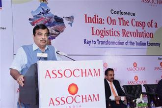 Shipping minister Nitin Gadkari says that while the 12 major ports in the country focus on cargo operations, there is a need to improve the utilization of asset available with them to enhance revenue, create jobs and benefit more people. Photo: PTI