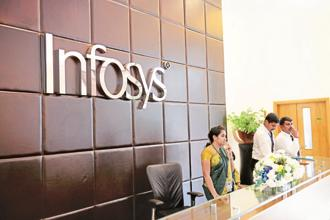 In rupee terms, Infosys Q1 results showed profit increased 1.4% year-on-year and 3.3% sequentially while revenue declined sequentially by 0.2% and 1.8% from a year ago. Photo: Mint