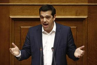 Greek Prime Minister Alexis Tsipras. As per Greek newspapers, Athens appears willing to 'take advantage of the current positive conjecture in the markets'. Photo:  Bloomberg