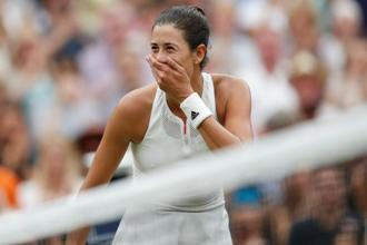 Garbine Muguruza became only the second Spanish woman to win Wimbledon after defeating Venue Williams in the final. Photo: Reuters