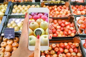 A smartphone's camera can be used to identify objects, which can be useful while shopping too. Photo: iStockphoto