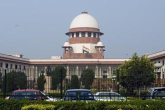 The Supreme Court of India. The right to privacy issue has cropped up in the context of Aadhaar, a government programme that collects biometric data of citizens to issue them a Unique ID. Photo: HT
