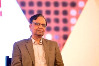 NITI Aayog vice chairman Arvind Panagariya says benefits of government reforms such as GST, Insolvency and Bankruptcy Act and Aadhaar Act are just beginning to show. Photo: Ramesh Pathania/Mint