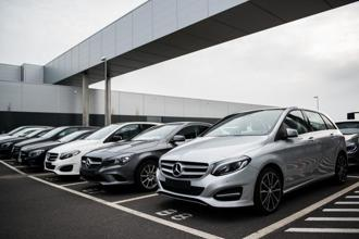 Daimler further said it would roll out its new four-cylinder OM 654 diesel engine in all Mercedes-Benz cars. Photo: Bloomberg