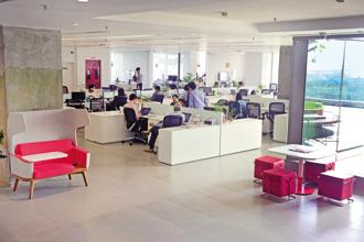 Supply of office space by 50% is one of the biggest fall in past five years. In the first six months of this year, total supply stood at approximately 10 million sq.ft, as the per the Cushman & Wakefield report. Photo: Mint
