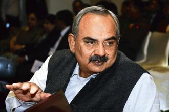 Union home secretary Rajiv Mehrishi said issues that affect extradition 'across the board', rather than specific cases, were raised during the India-UK home affairs dialogue. Photo: Hindustan Times