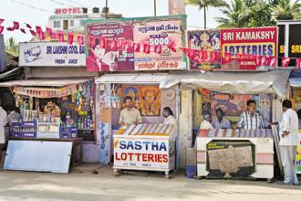 The Kerala government is expected to rake in close to Rs10,000 crore revenue from lottery sales this financial year. Photo: Alamy.com