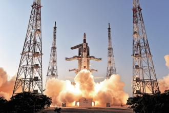 On 23 June, Isro launched an Indian earth observation satellite 'Cartosat-2 Series' on-board the PSLV C-38 with 30 nano satellites. Photo: Isro