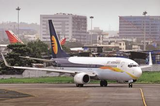 The deal with TruJet may see Jet Airways leasing out six planes in the first phase. Photo: Abhijit Bhatlekar/Mint