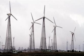 The forest panel was considering a proposal seeking diversion of 297.38 hectares of forest land in Kutch district for setting up a 400 MW wind power project. Photo: Bloomberg