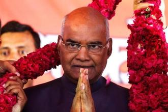 Ram Nath Kovind has been elected as the 14th President of India after counting of votes on Thursday. Photo: Reuters