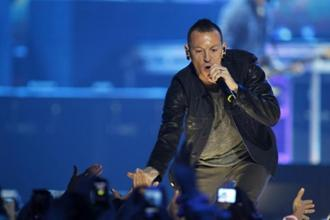 Chester Bennington had a history of alcohol and drug abuse. Photo: Reuters