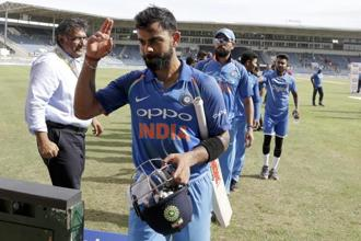Everyone from trendy hipsters to rugged men to actors, models and almost every player on the Indian cricket team sports a beard. Photo: AP