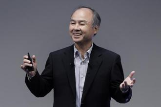 SoftBank Group's chairman and CEO Masayoshi Son speaks at the SoftBank World 2017 event in Tokyo, Japan, on Thursday. Photo: Kiyoshi Ota/Bloomberg