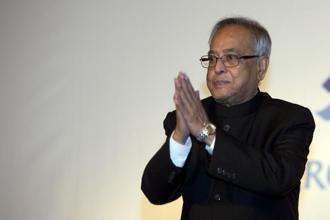 From a village in West Bengal's Birbhum district to the highest office in the land, it has been quite a journey for President Pranab Mukherjee, the 13th person since Independence to hold the office. Photo: Bloomberg