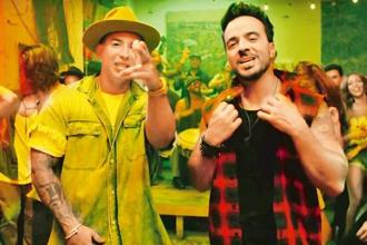 Daddy Yankee and Louis Fonsi in the single 'Despacito'.