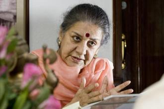 Ambika Soni is the AICC general secretary incharge of party affairs in Himachal Pradesh, Uttarakhand and Jammu and Kashmir. Photo: Mint