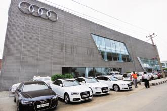 Audi will recall as many as 850,000 vehicles to update the software in Euro 5 and Euro 6 engines to reduce emissions. Photo: Ramesh Pathania/Mint