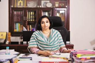 CBEC chairperson Vanaja Sarna said the department is keeping track of revenue trends post the GST rollout from 1 July, but actual positions will be known after returns are filed in September. Photo: Pradeep Gaur/Mint