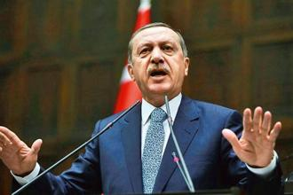 Turkish President Recep Tayyip Erdogan. The diplomatic dispute between Qatar and other Gulf countries has put Turkey in a delicate position. Photo: AFP