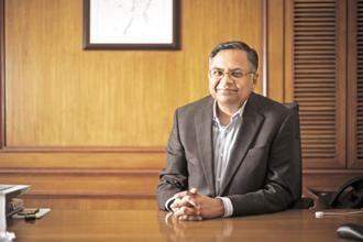 Natarajan Chandrasekaran took over as chairman of Tata Sons in February. File photo: Mint