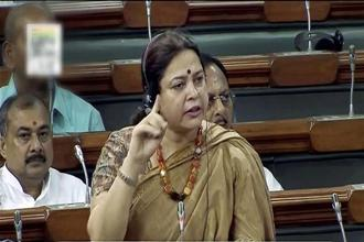 Raising the issue during Zero Hour, BJP MP Meenakshi Lekhi said the 'genie' of Bofors case will continue to haunt the Congress party until a proper investigation is conducted. Photo: PTI