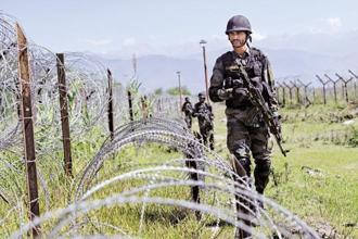 The Foreign Office claimed that Indian forces resorted to 'unprovoked firing' on Leepa Sector on 21 July. Photo: HT