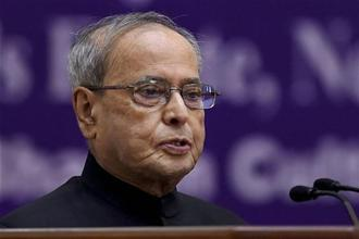 Pranab Mukherjee's tenure as the President of India ends on Tuesday when Ram Nath Kovind takes charge as the new president. Photo: PTI