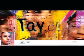 Microsoft's Tay bot on Twittter was an experiment with AI that went rogue, forcing Microsoft to apologize.