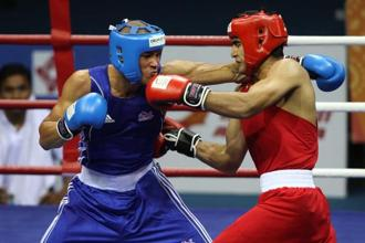 India getting the hosting rights for two world boxing events is significant as the country had a boxing federation in place only in 2016, after serving suspension and termination between 2012 and 2016 owing to administrative wrangling. Photo: Hindustan Times