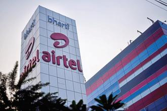 The June quarter net profit is the lowest since December 2012 for Bharti Airtel. Photo: Mint