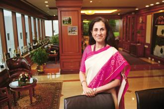 ICICI Bank chief Chanda Kochhar. ICICI Bank NPAs jumped 56.5% to Rs43,147.64 crore at the end of June from Rs27,562.93 crore a year ago. Photo: Abhijit Bhatlekar/Mint