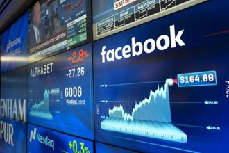 At least 11 brokerages raised their price targets for the Facebook stock. Photo: AP