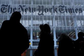 On a per-share basis, New York Times earned 9 cents per share in the latest quarter. Photo: Reuters