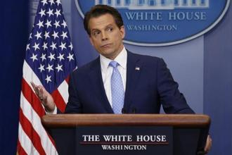 Anthony Scaramucci said there is an establishment element inside the White House that is trying 'to save America from this president.' Photo: Reuters