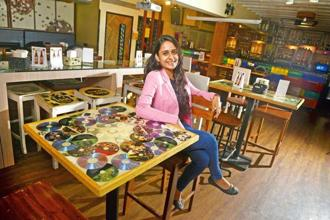 Amishi Shah started upcycling as a hobby in 2013. Photo: Abhijit Bhatlekar/Mint