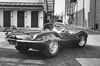 Actor Steve McQueen driving a sports car in California, June 1963. Photo: John Dominis/The LIFE Picture Collection/Getty Images.