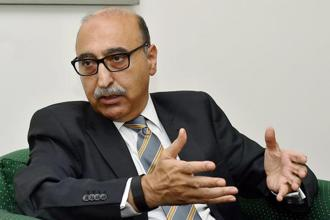"Abdul Basit, who was twice overlooked for the post of Pakistan's foreign secretary, said it was important ""to get real"" on the question of mending ties. Photo: PTI"