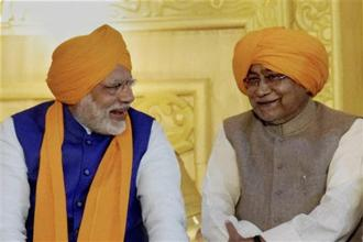 By re-signing with the BJP, that is totally dominated by Narendra Modi, Nitish Kumar has effectively accepted the leadership of the prime minister. Photo: PTI