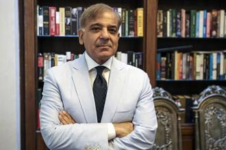 A file photo of Pakistan Punjab's chief minister Shehbaz Sharif. Bloomberg