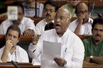 Pointing to the involvement of organizations such as the Vishva Hindu Parishad (VHP) and the Bajrang Dal in such cases, Mallikarjun Kharge, leader of the Congress in the lower house, alleged that the BJP was encouraging such incidents. Photo: PTI