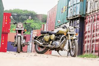With the 2.41% rise in its share price on Monday, Eicher Motors, which makes trucks and motorcycles has gained 38% since the beginning of the year. Photo: Mint