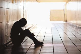 A large majority of people suffering from depression are either reluctant or unable to seek medical help. Photo: iStock