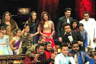 A still from Sony TV Super Dancer 2016.