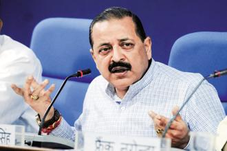 MoS for personnel Jitendra Singh said a total of 13 officers have been dismissed from service during the same period. They include 4 IAS officers, one from IPS, and 8 from IRS. Photo: Hindustan Times